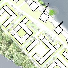 Úzmený plán zóny Prístav Korneuburg